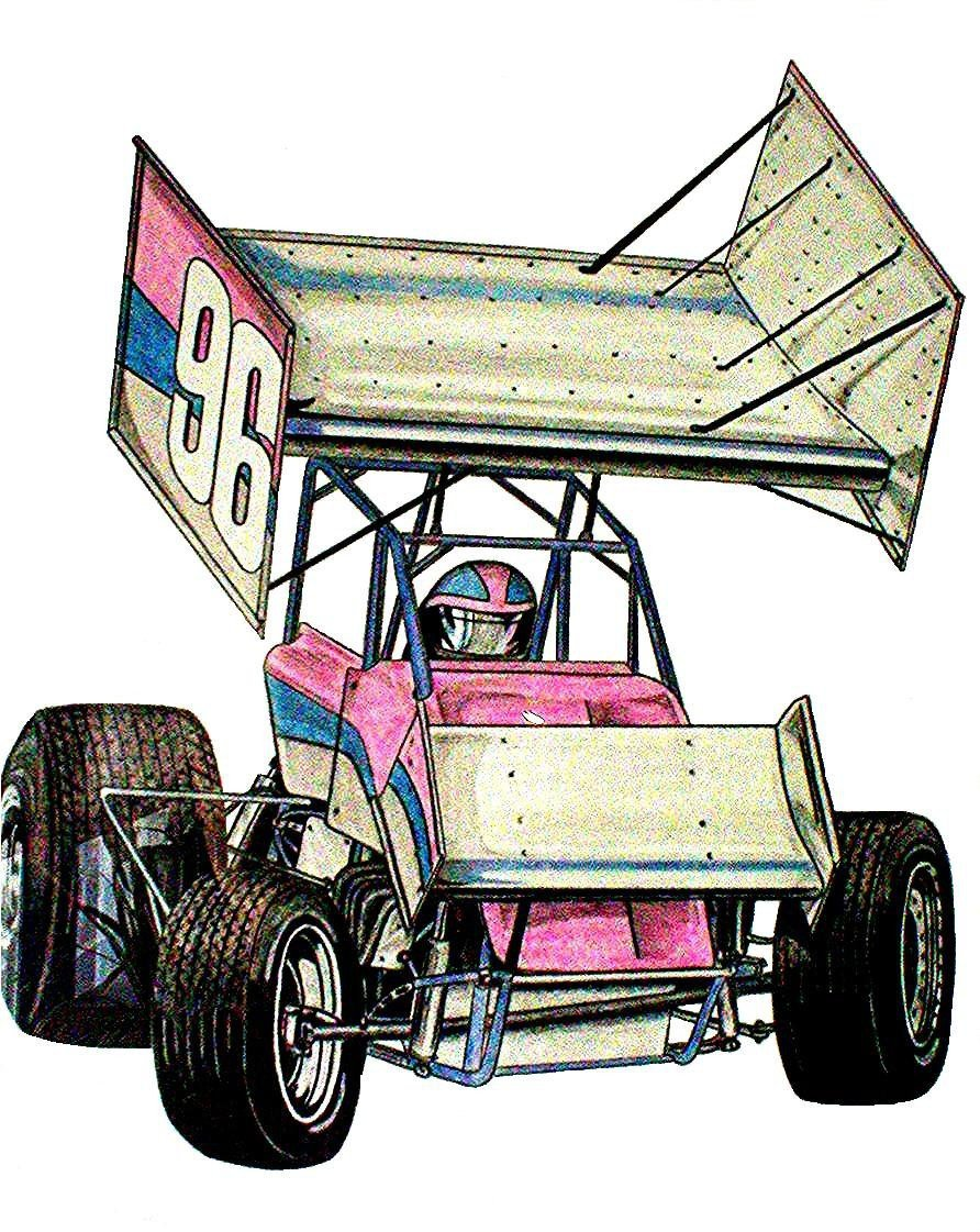 Sprint Car Drawing the Sprint Car Drawing by Colts4us On Deviantart