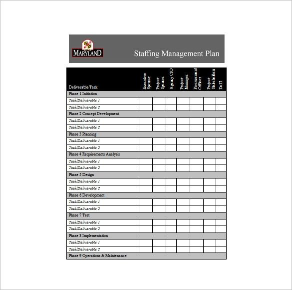 Staffing Plan Template Excel 9 Staffing Plan Templates Pdf Doc Xlsx