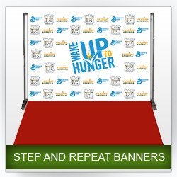 Step and Repeat Template Trade Show Banner Displays • Apg Exhibits