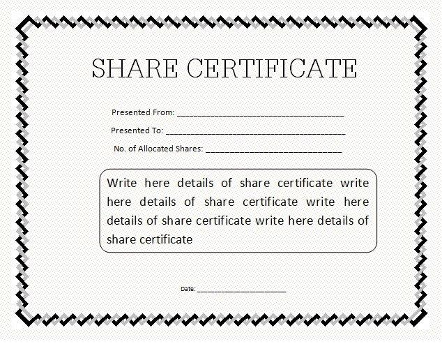 10 Certificate Templates