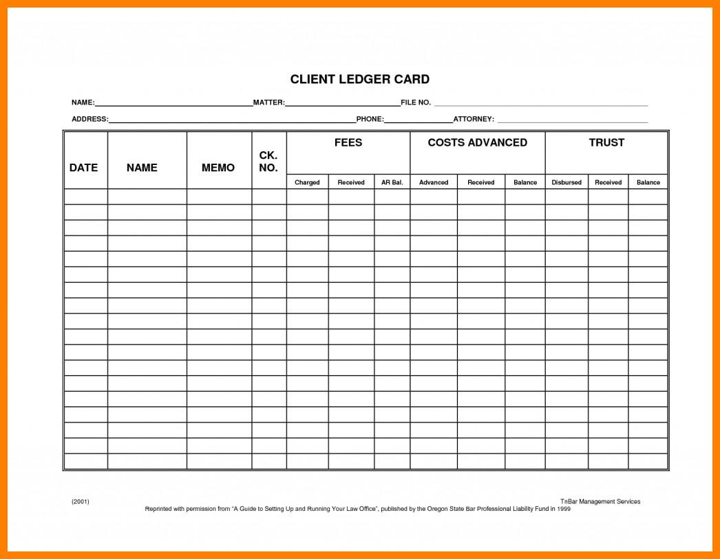 Stock Transfer Ledger Template 6 Free Stock Ledger Template