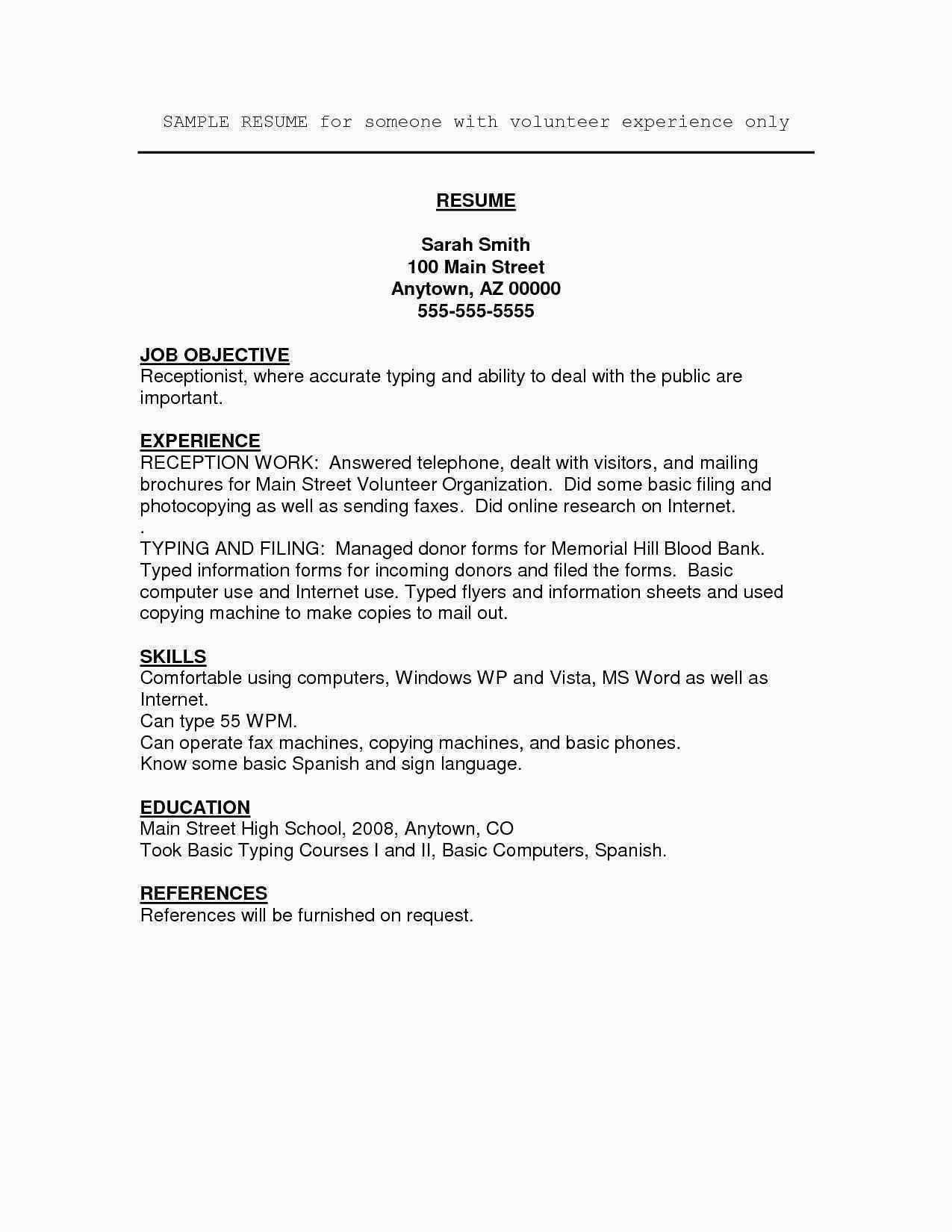 Student athlete Resume Template 70 Luxury S Sample Resume for High School Student