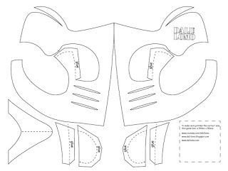 Sub Zero Mask Template Make Mortal Kombat Scorpion Mask Cereal Box