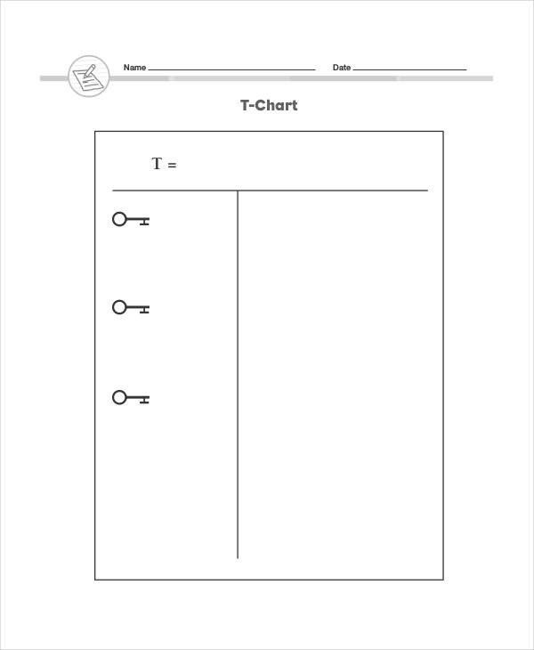 T Chart Template Word T Chart Templates 6 Free Word Excel Pdf format
