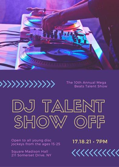 Talent Show Flyer Template Customize 71 Talent Show Flyer Templates Online Canva