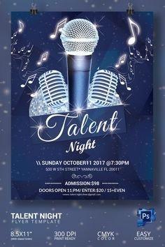 Talent Show Flyer Template Talent Show Flyer Template Cliparts