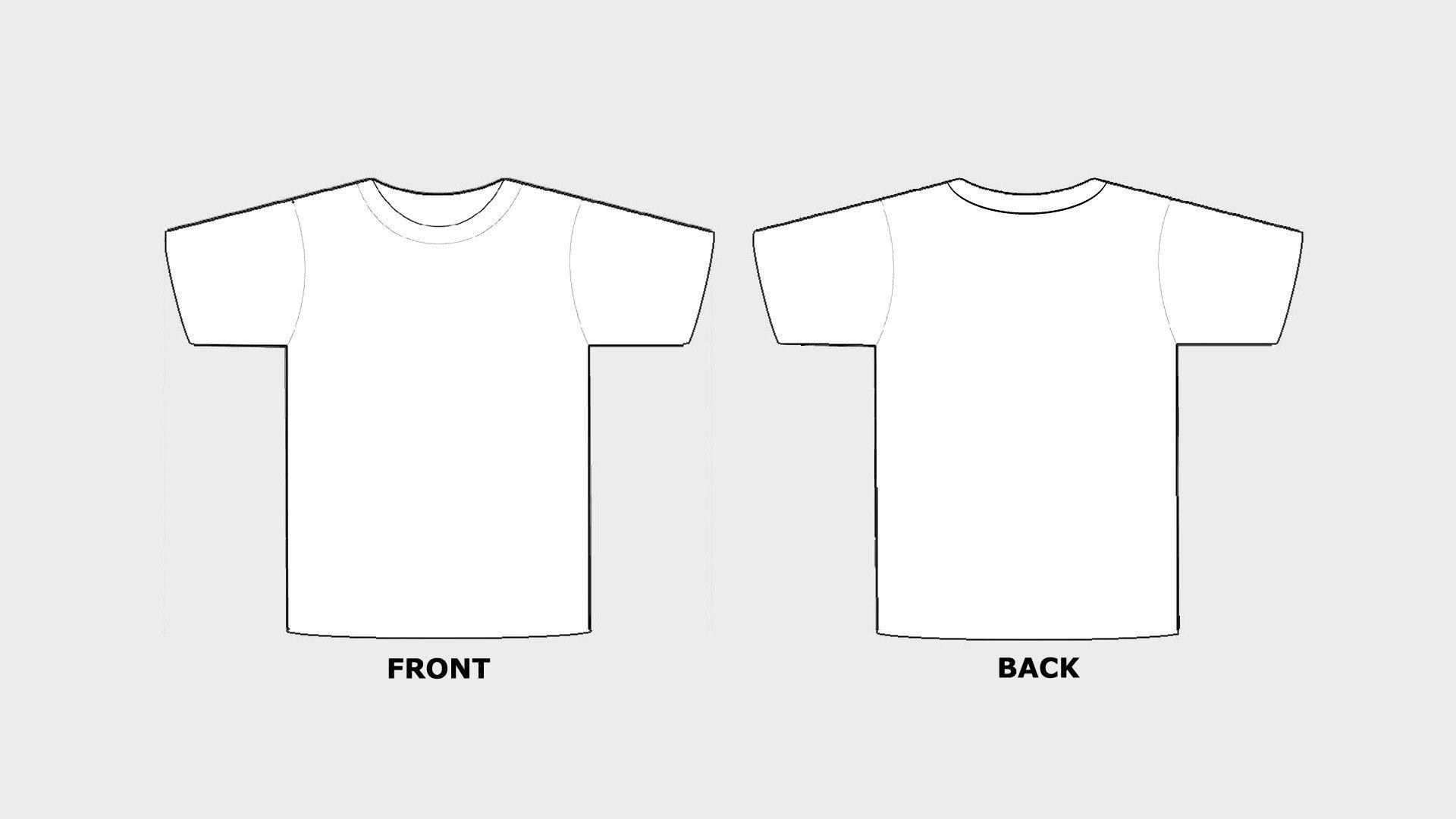 Tee Shirt Design Template Blank Tshirt Template Printable In Hd Hd Wallpapers