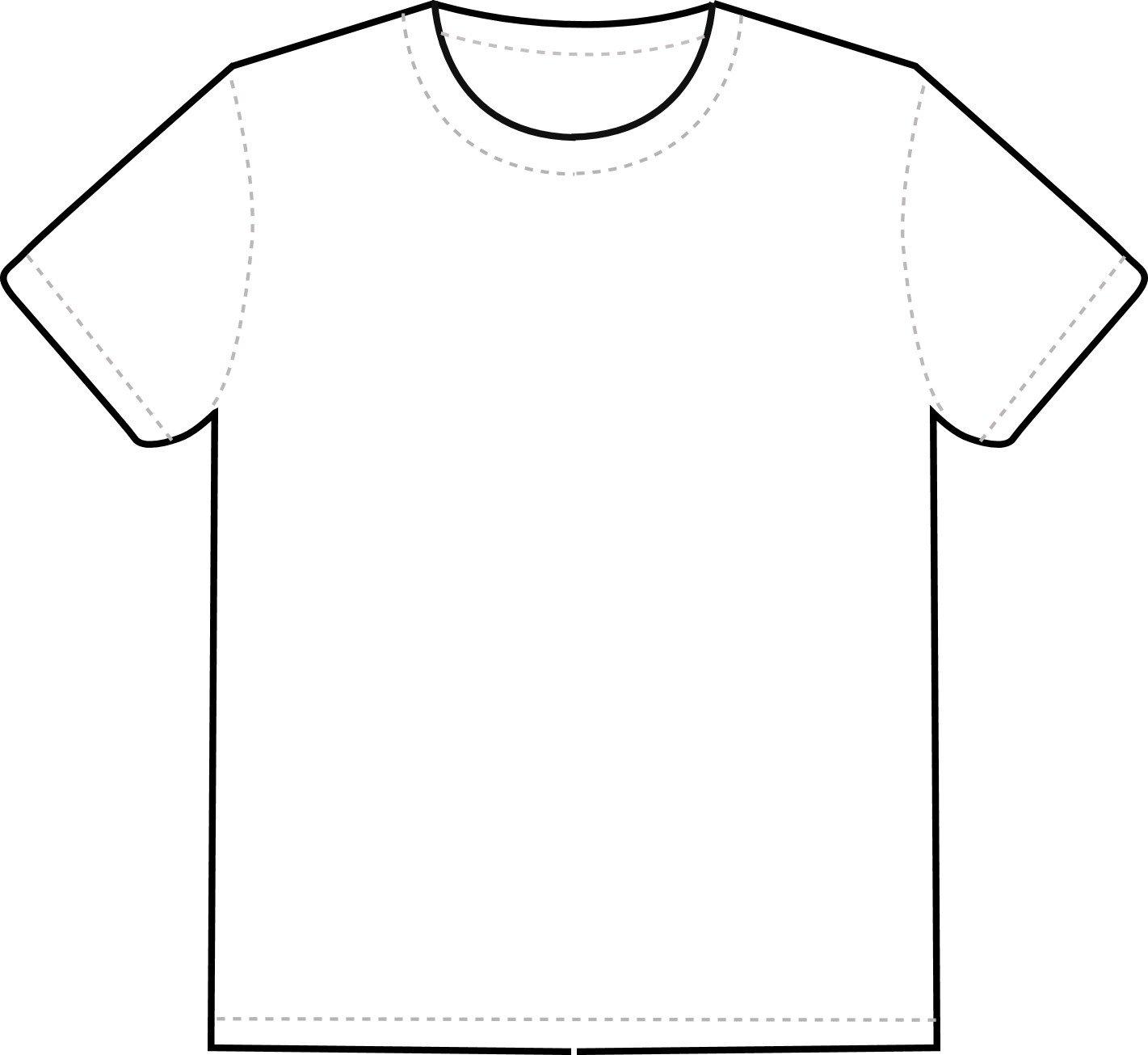 Tee Shirt Design Template Free T Shirt Template Printable Download Free Clip Art