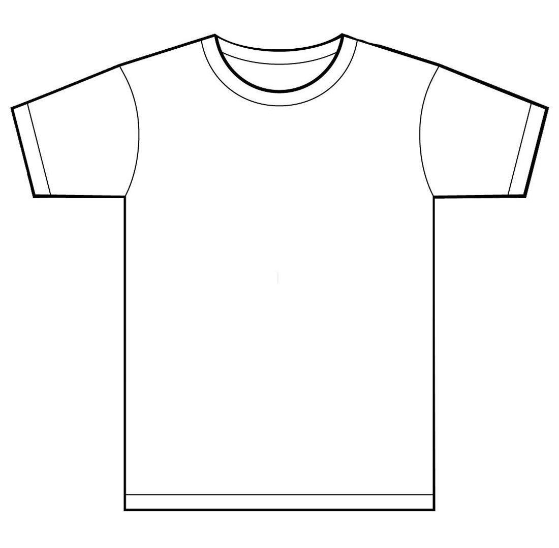 Tee Shirt Design Template T Shirt Designs Clipart Clipart Kid Clipart