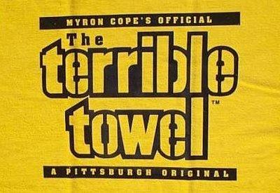 Terrible towel Pictures Anécdotas De Acero La Maldición De La toalla Terrible