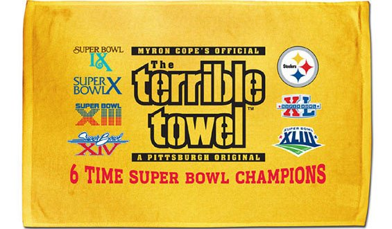 Terrible towel Pictures How the Steelers Terrible towel Funded A Special Needs School