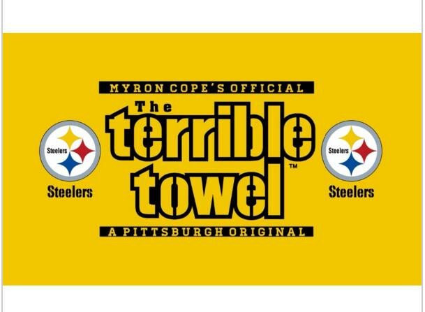 Terrible towel Pictures Line Get Cheap Pittsburgh Steeler Flags Aliexpress