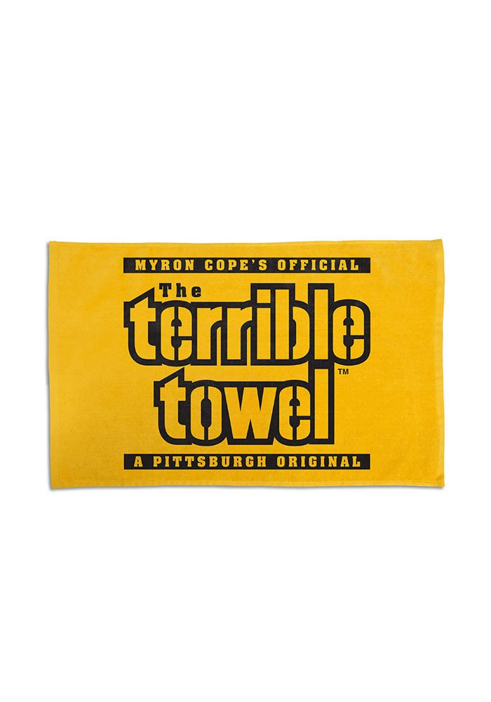 Terrible towel Pictures Pittsburgh Steelers 25x15 Terrible Rally towel