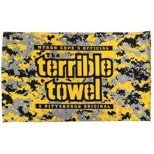 Terrible towel Pictures Pittsburgh Steelers Myron Cope Digital Camo Terrible towel