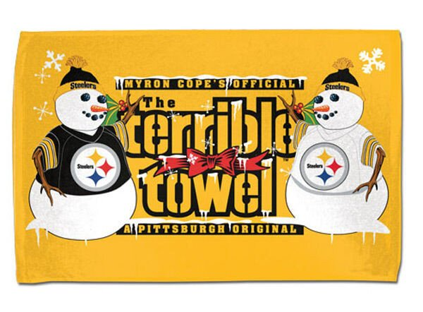 Terrible towel Pictures Pittsburgh Steelers Xmas Christmas Terrible towel with