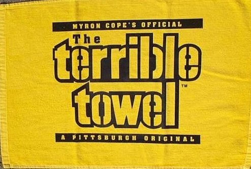 Terrible towel Pictures Spectrum Wavelengths Yellow and the Big Game