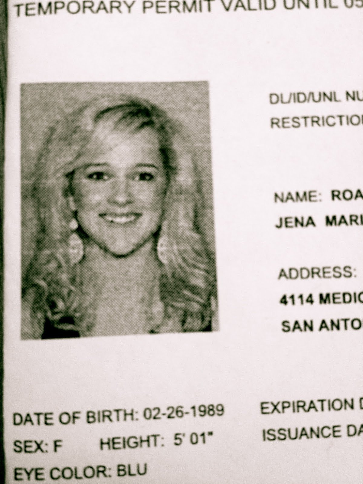 Texas Temporary Paper Id Fake 23 Of Texas Temporary Drivers License Template