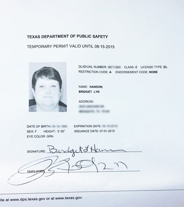 Texas Temporary Paper Id Fake 33 Best Driver License Templates Photoshop File Images On