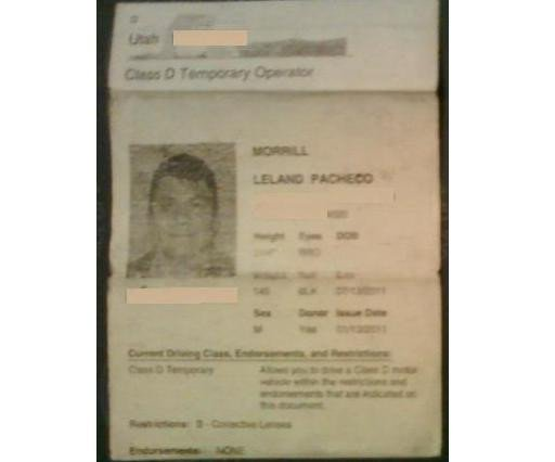 Texas Temporary Paper Id Fake Adopted Native Americans Real Id Act Wouldn T You Know