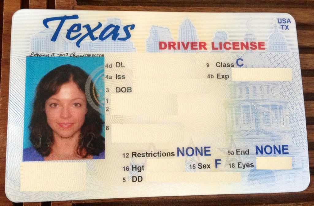 Texas Temporary Paper Id Fake Out with the Old In with the New