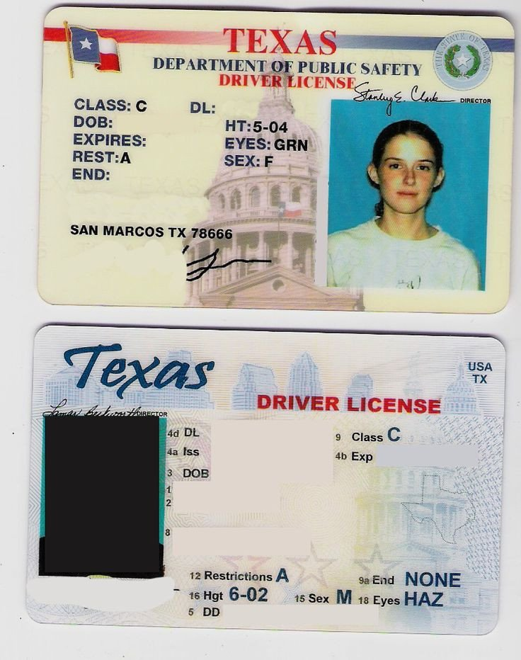 Texas Temporary Paper Id Fake Two Texas Fake Drivers Licenses Cards Download the Id