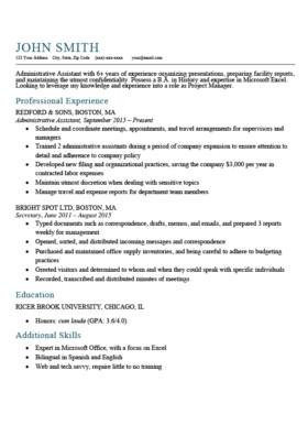 Textedit Resume Template Expert Preferred Resume Templates