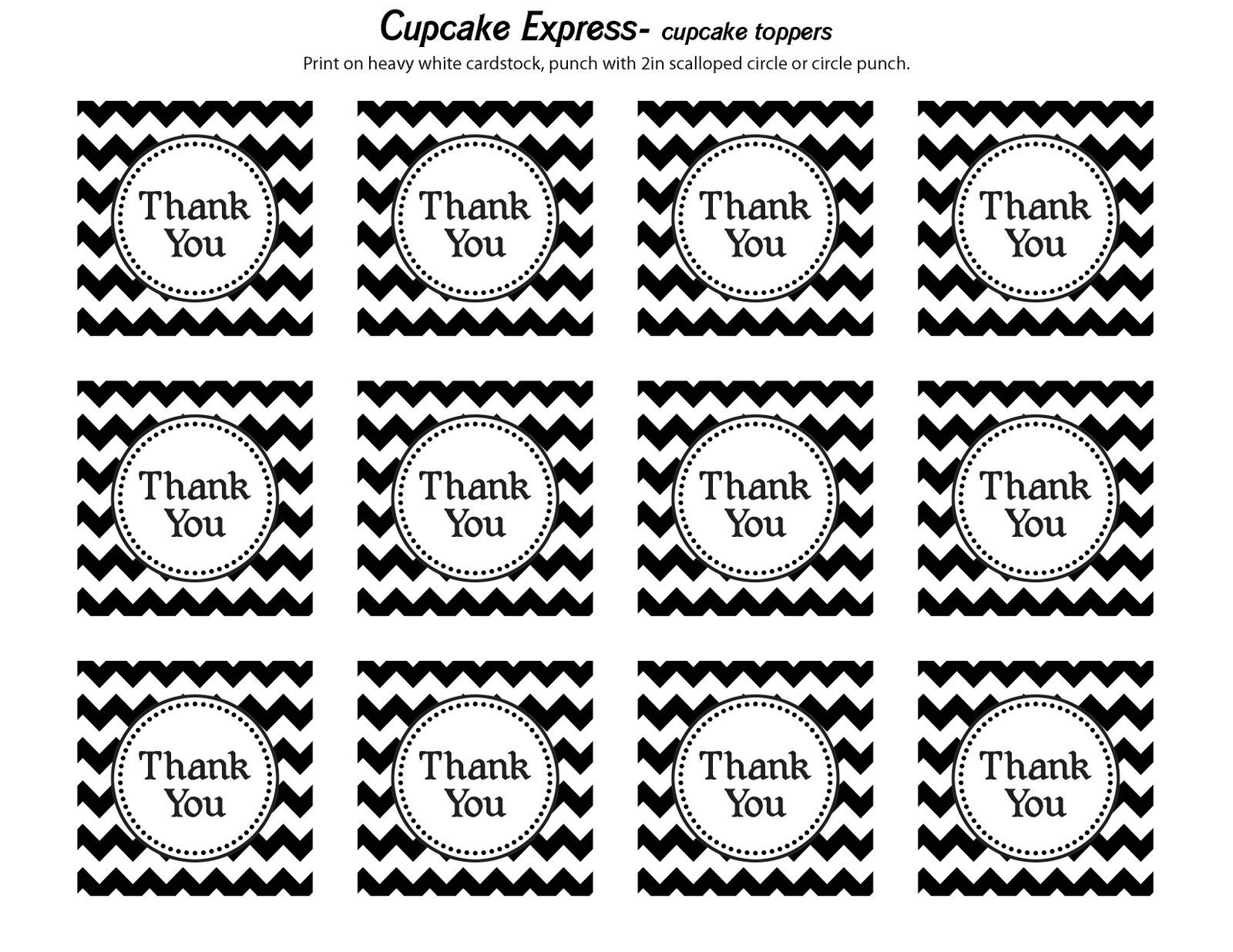 Thank You Printable Tags Happy Monday Free Thank You Tags