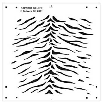 Tiger Stripe Stencil Printable Tiger Stencils Printable