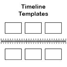 Timeline Templates for Kids Free Blank History Timeline Templates for Kids and Students