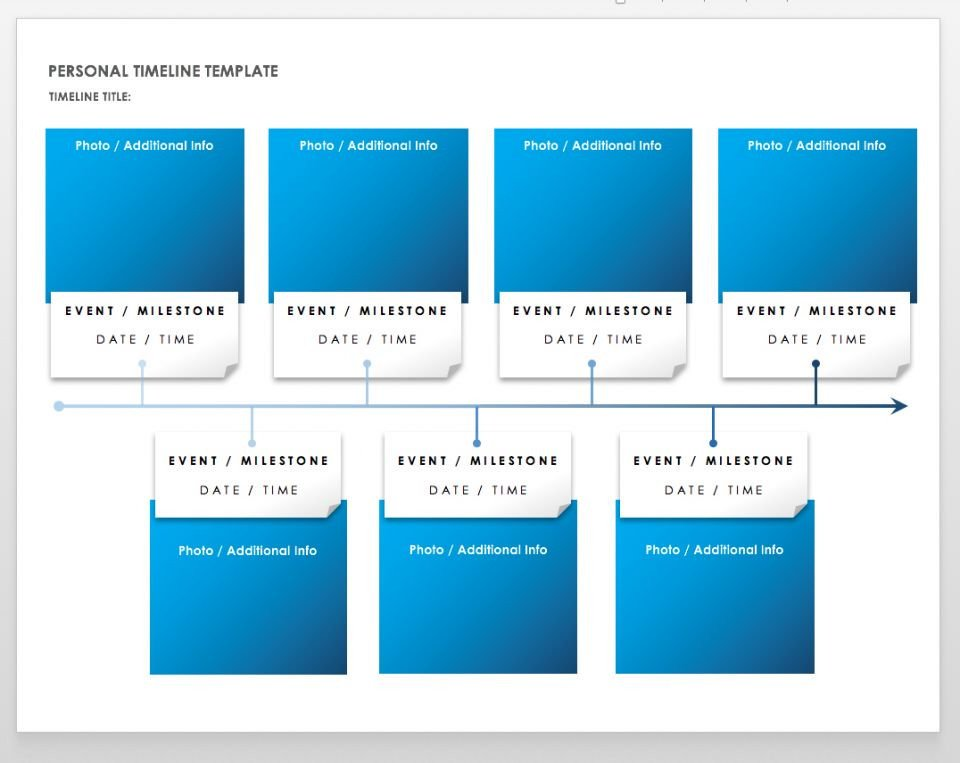Timeline Templates for Word Free Blank Timeline Templates