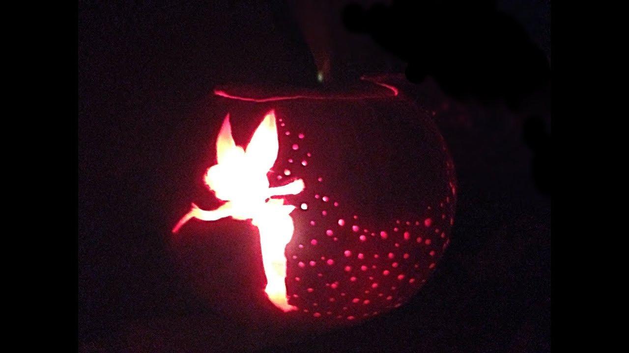 Tinkerbell Pumpkin Carving Tutorial