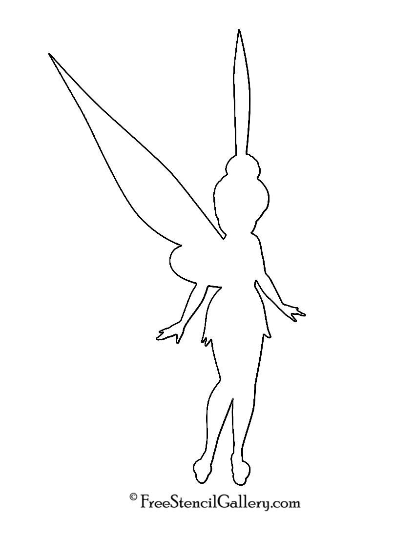 Tinkerbell Pumpkin Carving Patterns Tinkerbell Silhouette Stencil