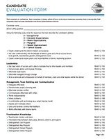 Toastmasters Speech Evaluation form toastmasters International Candidate Evaluation form