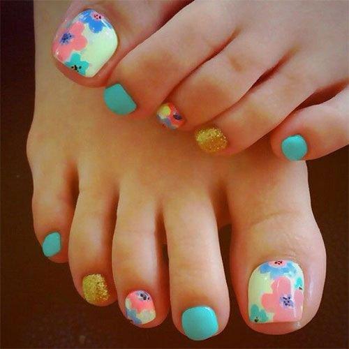 Toe Nail Designs Ideas 15 Summer toe Nail Art Designs & Ideas 2016