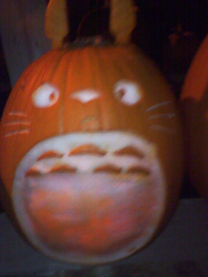 Totoro Pumpkin Pattern 301 Moved Permanently