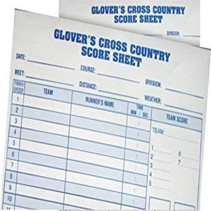 Track Meet Scoring Spreadsheet Amazon Everything Track and Field Cross Country