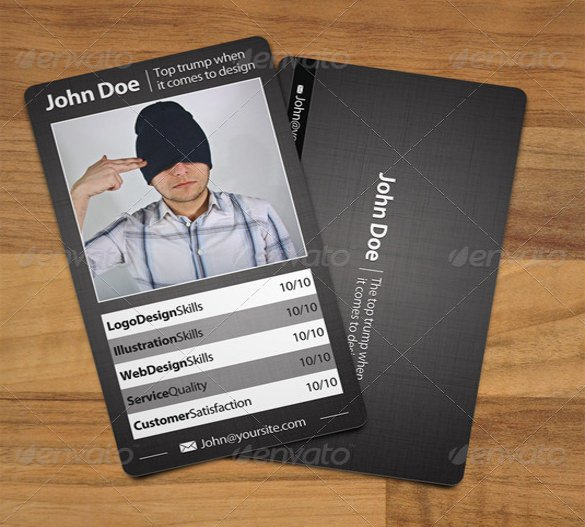 Trading Card Template Photoshop 33 Trading Card Template Word Pdf Psd Eps