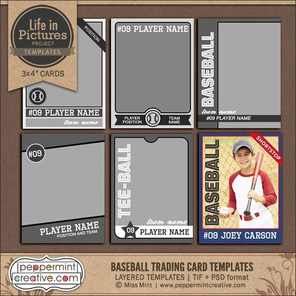 Best 25 Trading card template ideas on Pinterest