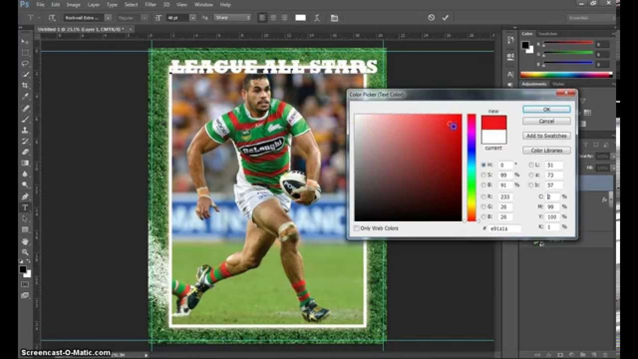 Trading Card Template Photoshop Make A Trading Card In Adobe Shop Part 1