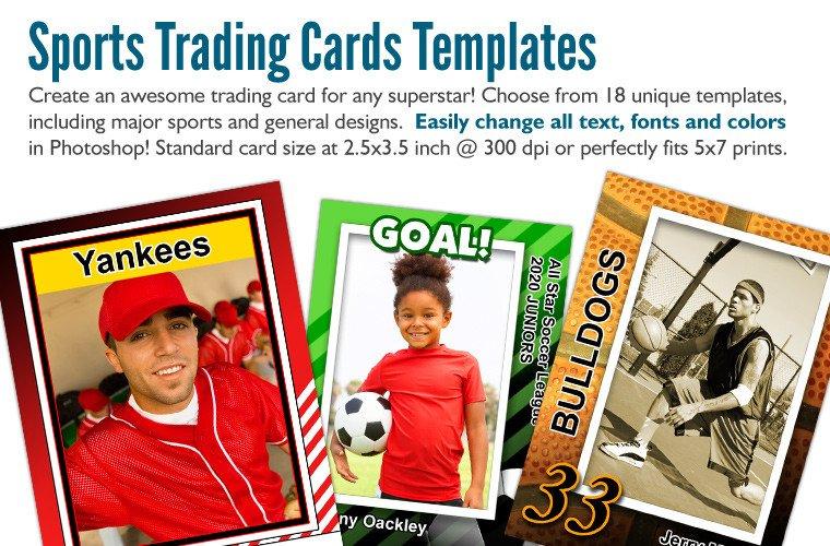 Trading Card Template Photoshop Plete Digital Backdrops Photo Backgrounds Photoshop