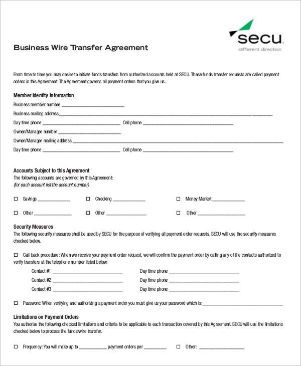Sample Business Transfer Agreement 6 Examples in Word PDF