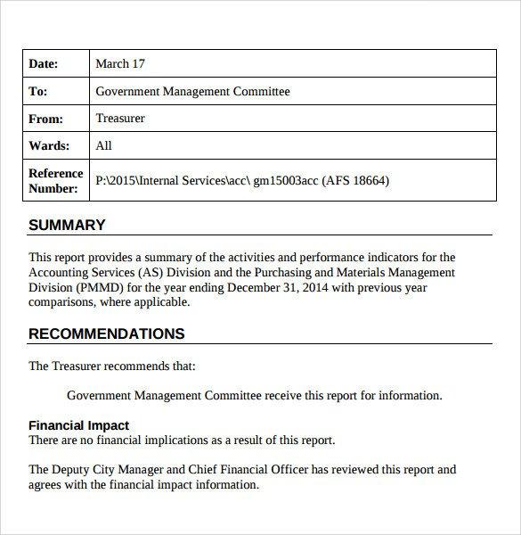 Treasurer Report Template Excel Sample Treasurer Report 16 Documents In Pdf Word
