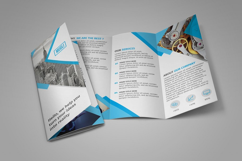 Tri Fold Brochure Template Free 65 Print Ready Brochure Templates Free Psd Indesign & Ai