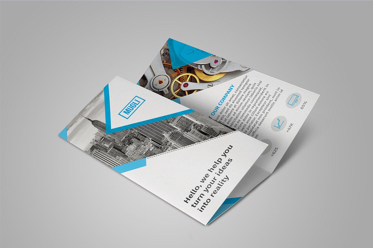 Tri Fold Brochure Template Free Free Tri Fold Brochure Template Download On Behance