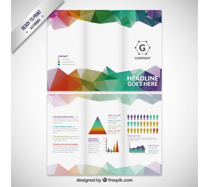 Tri Fold Brochure Template Free Tri Fold Brochure Template 20 Free Easy to Customize Designs