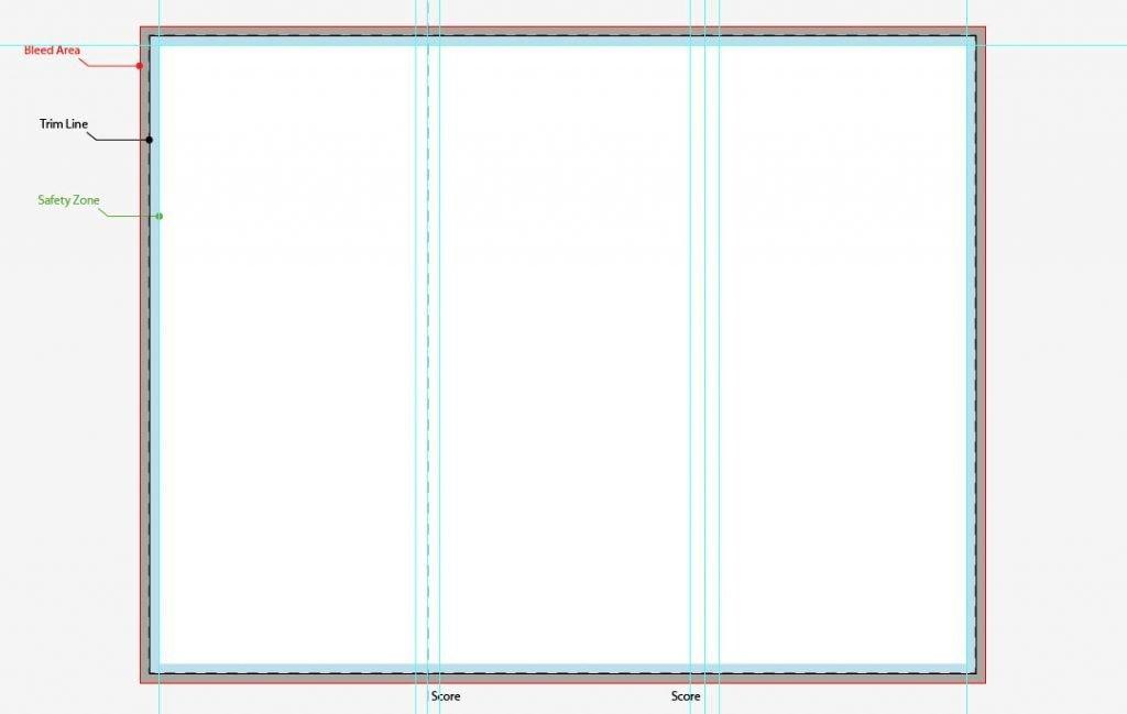 Tri Fold Brochure Template Illustrator A4 Tri Fold Brochure Template Illustrator