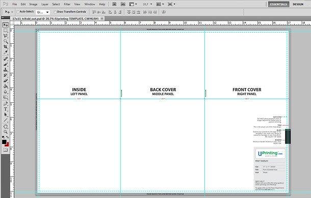 Tri Fold Brochure Template Illustrator A4 Tri Fold Brochure Template Illustrator Templates