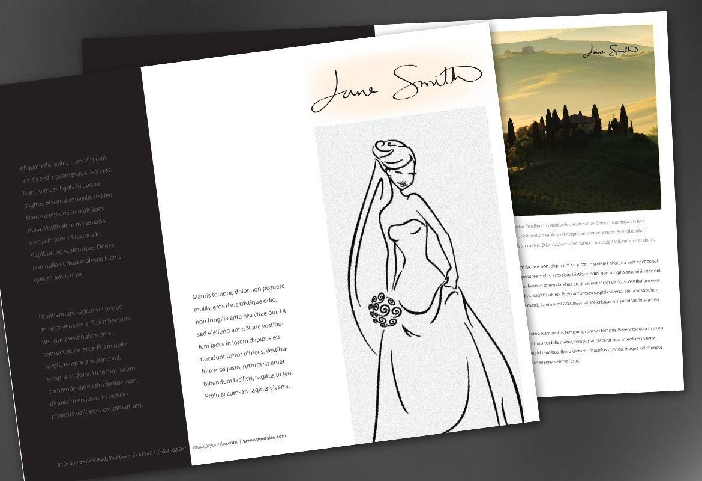 Tri Fold Brochure Template Illustrator Tri Fold Brochure Template for Design for Illustrator