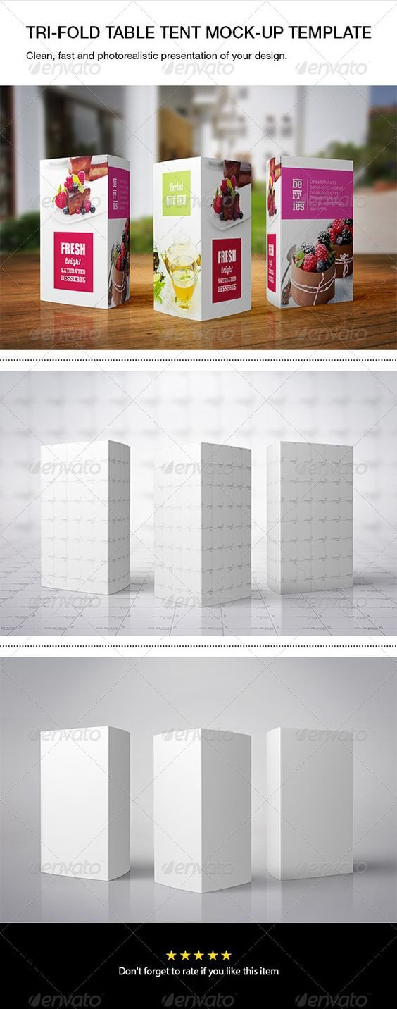 Tri Fold Table Tent Template Pinterest • the World's Catalog Of Ideas