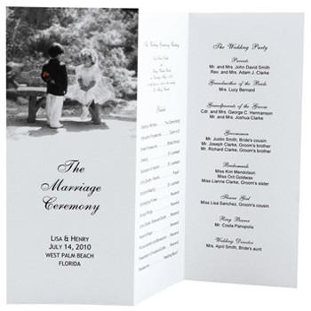 Tri Fold Wedding Programs Templates Wedding Design Gallery Category Page 53 Designtos